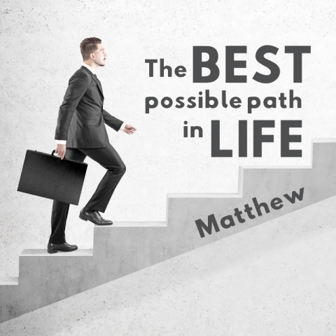 The Best Possible Path In Life (3) Matthew 7:1-6
